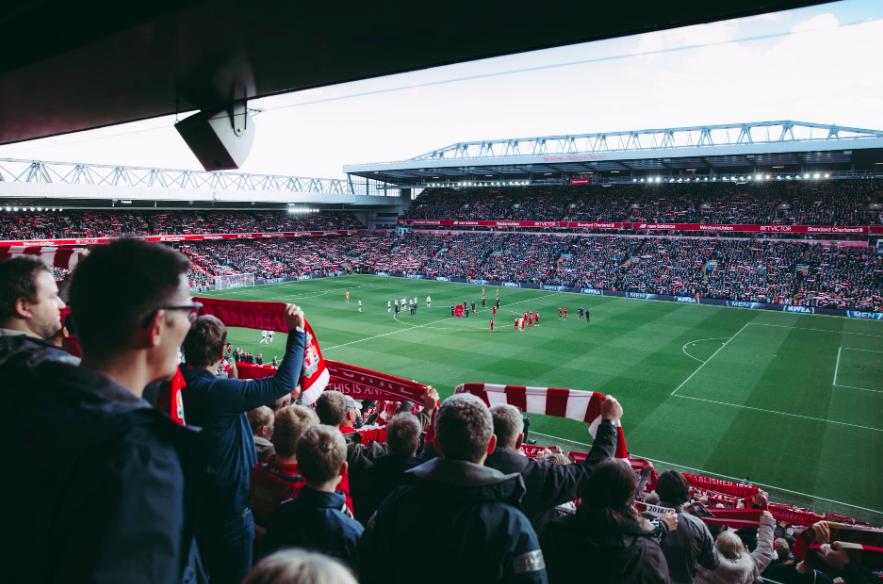 Se fotboll i Liverpool